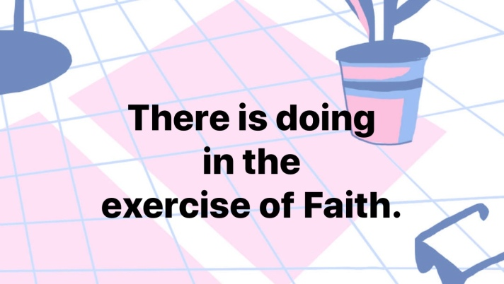 Exercising Faith