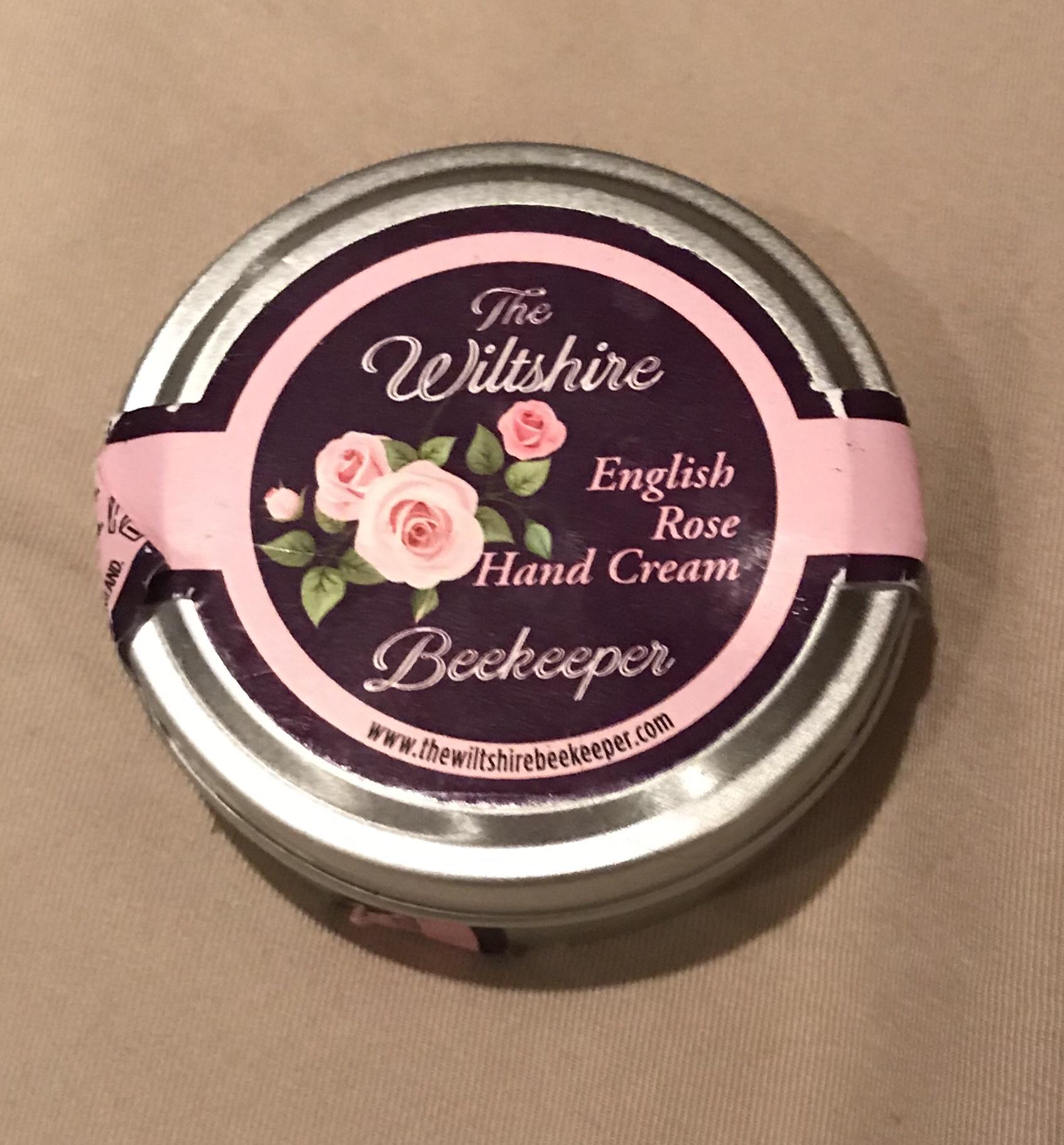Wiltshire Beekeeper's English Rose Hand Cream
